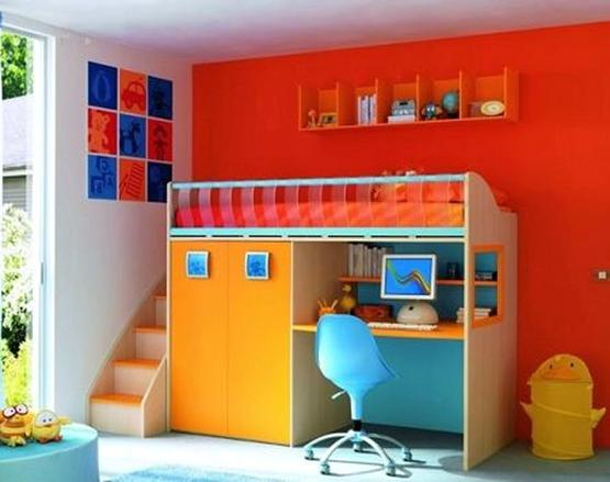 Pintura en dormitorios infantiles pintor granada - Pintura habitaciones infantiles ...